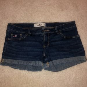 HOLISTER JEAN SHORTS size 7